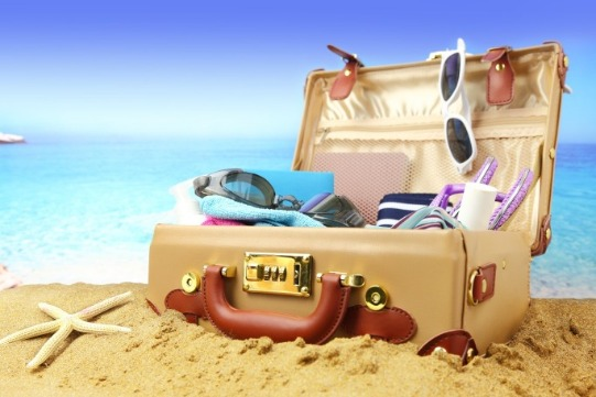 Beach Suitcase | Sunset Vacations