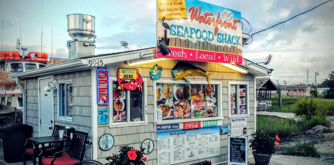 Waterfront Seafood Shack in Calabash | Sunset Vacations
