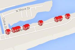 Map of Properties 13th to 18th Street 3rd Row
