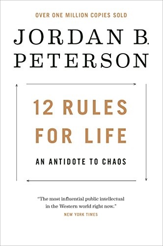 12 Rules For Life Book Cover | Sunset Vacations