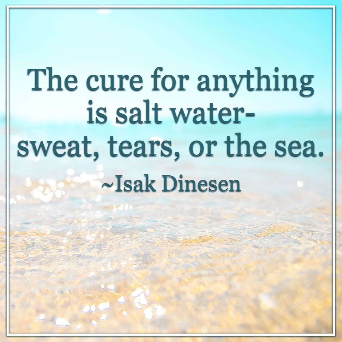 Saltwater Cure