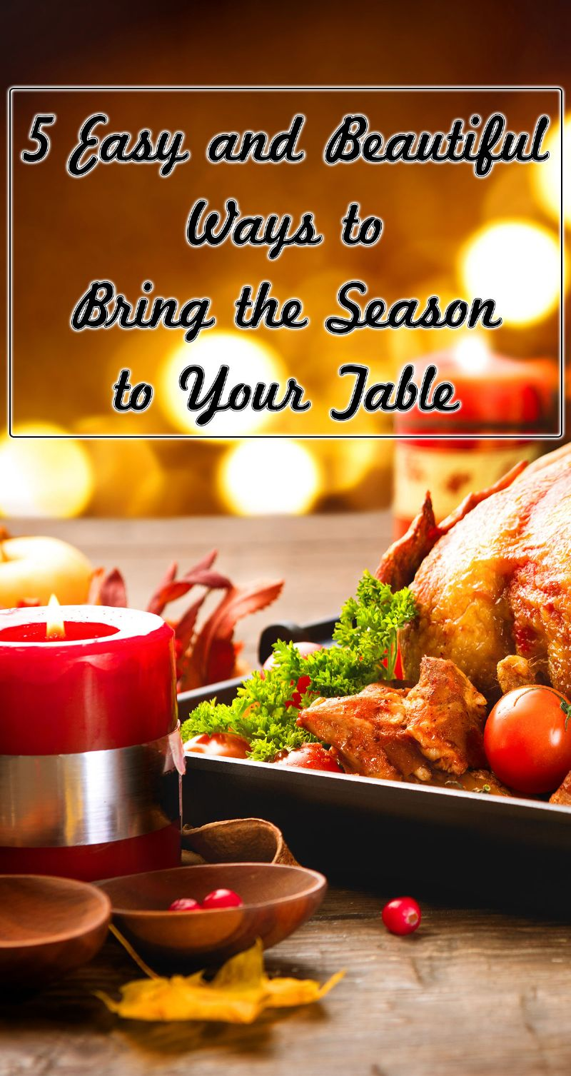 Bring the Season to Your Table Pin