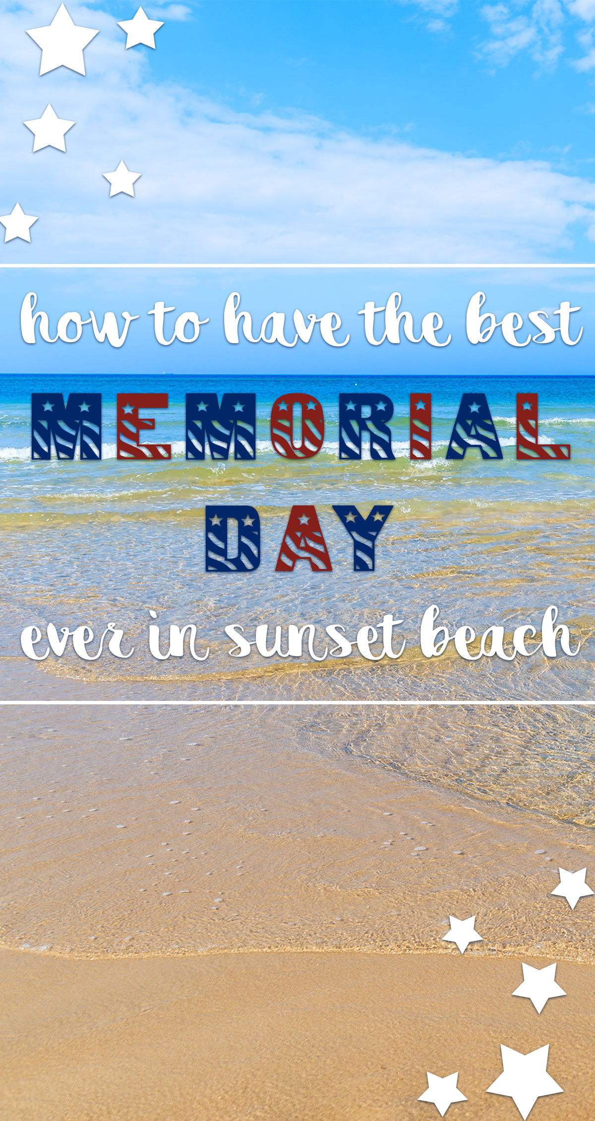 How to Have the Best Memorial Day Ever in Sunset Beach Pin