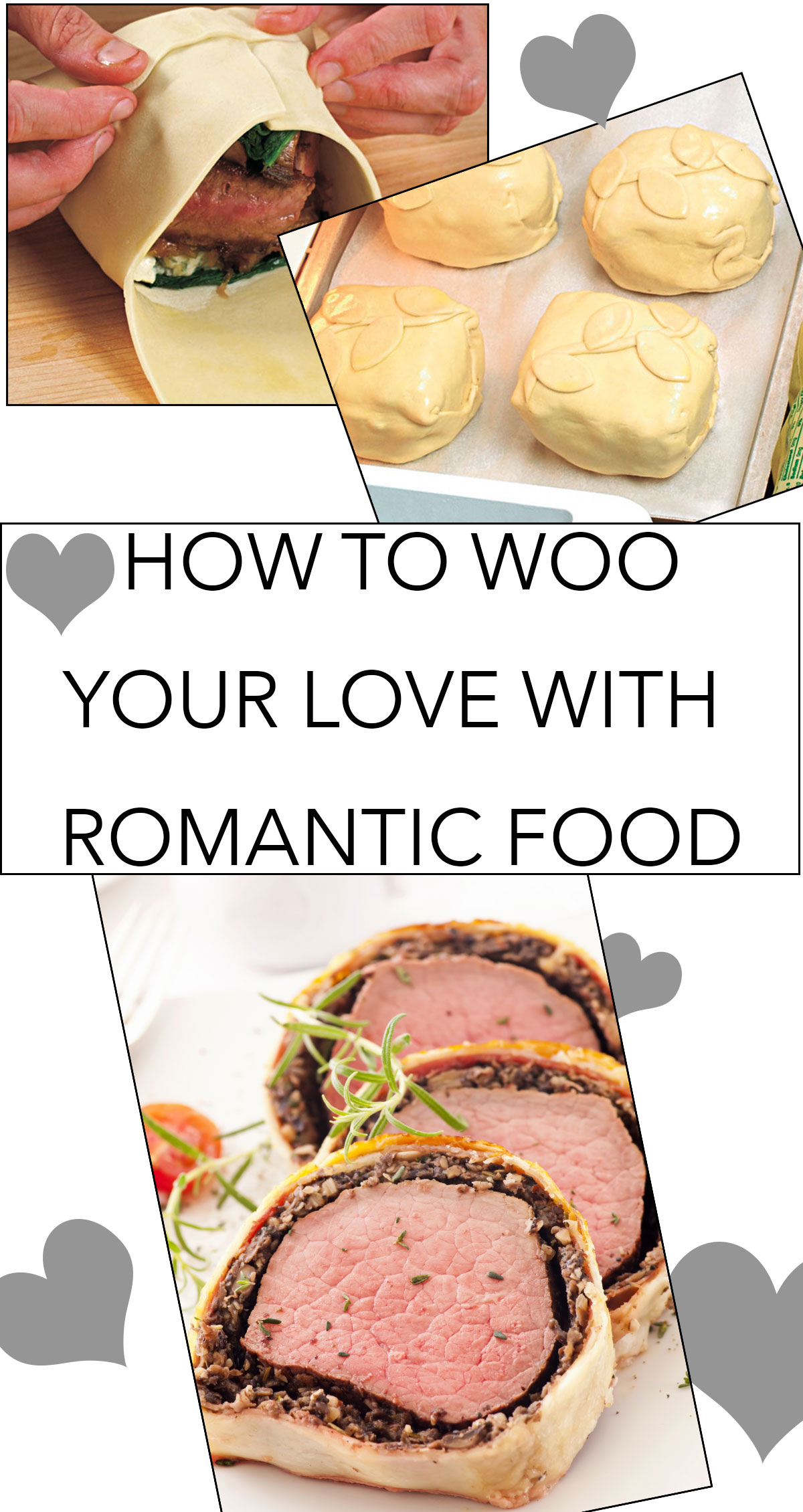 How to Woo Your Love with Romantic Food Pin