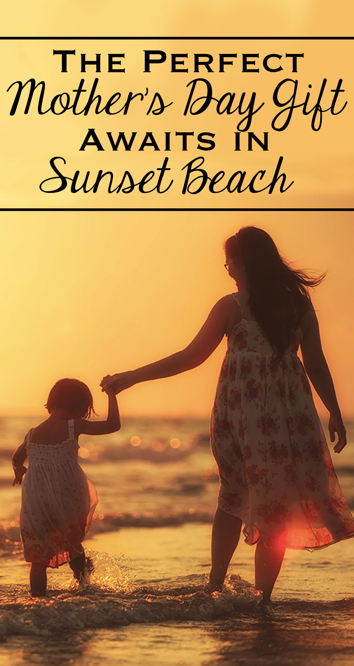 The Perfect Mother's Day Gift Awaits in Sunset Beach Pin