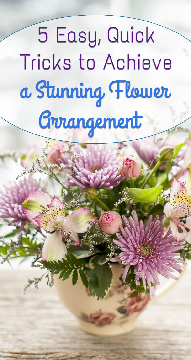 Stunning Flower Arrangement Pin