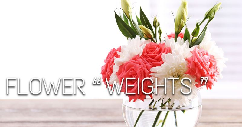 Flowers as Weights