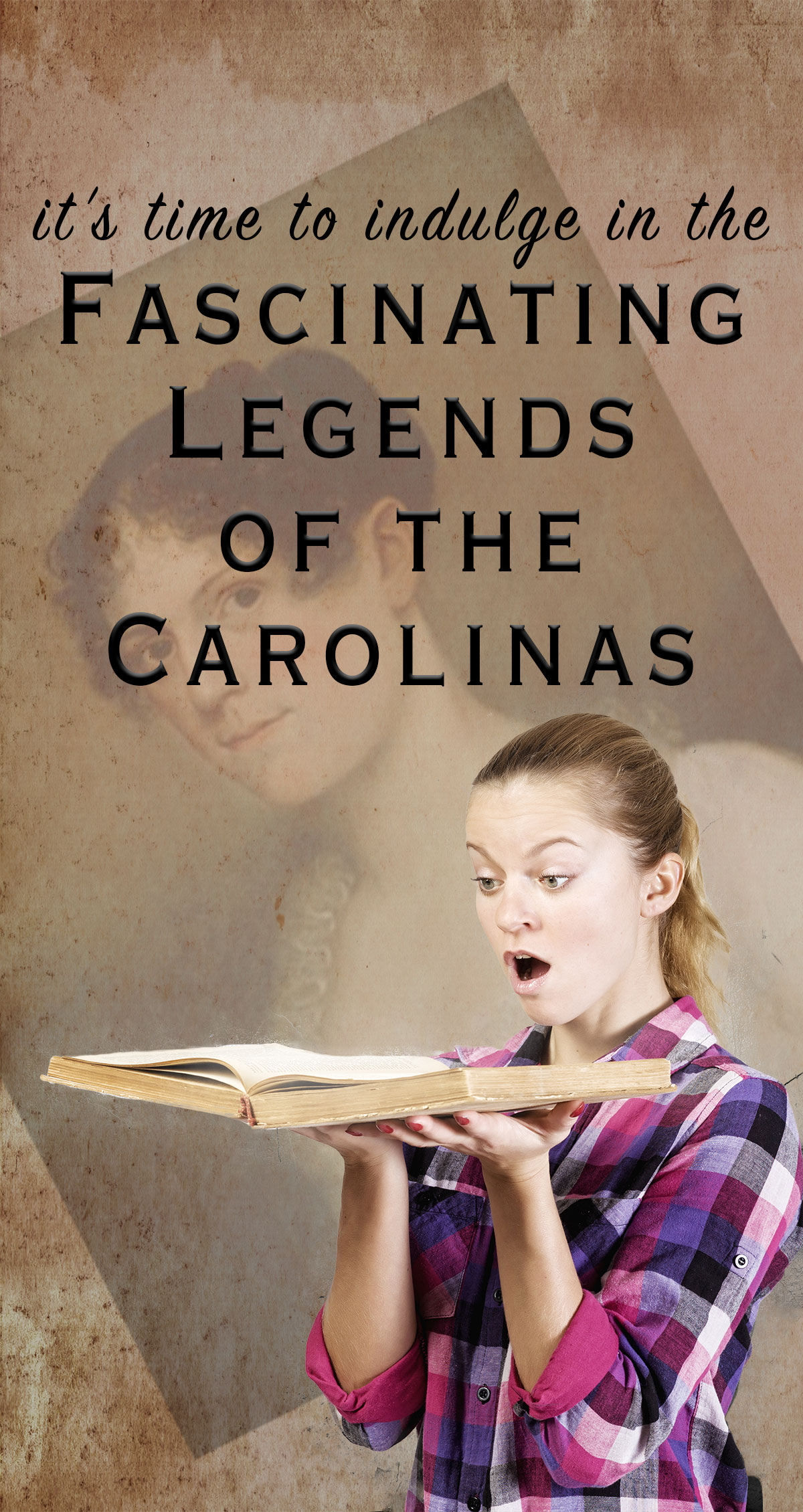 It's Time to Indulge in the Fascinating Legends of the Carolinas Pin
