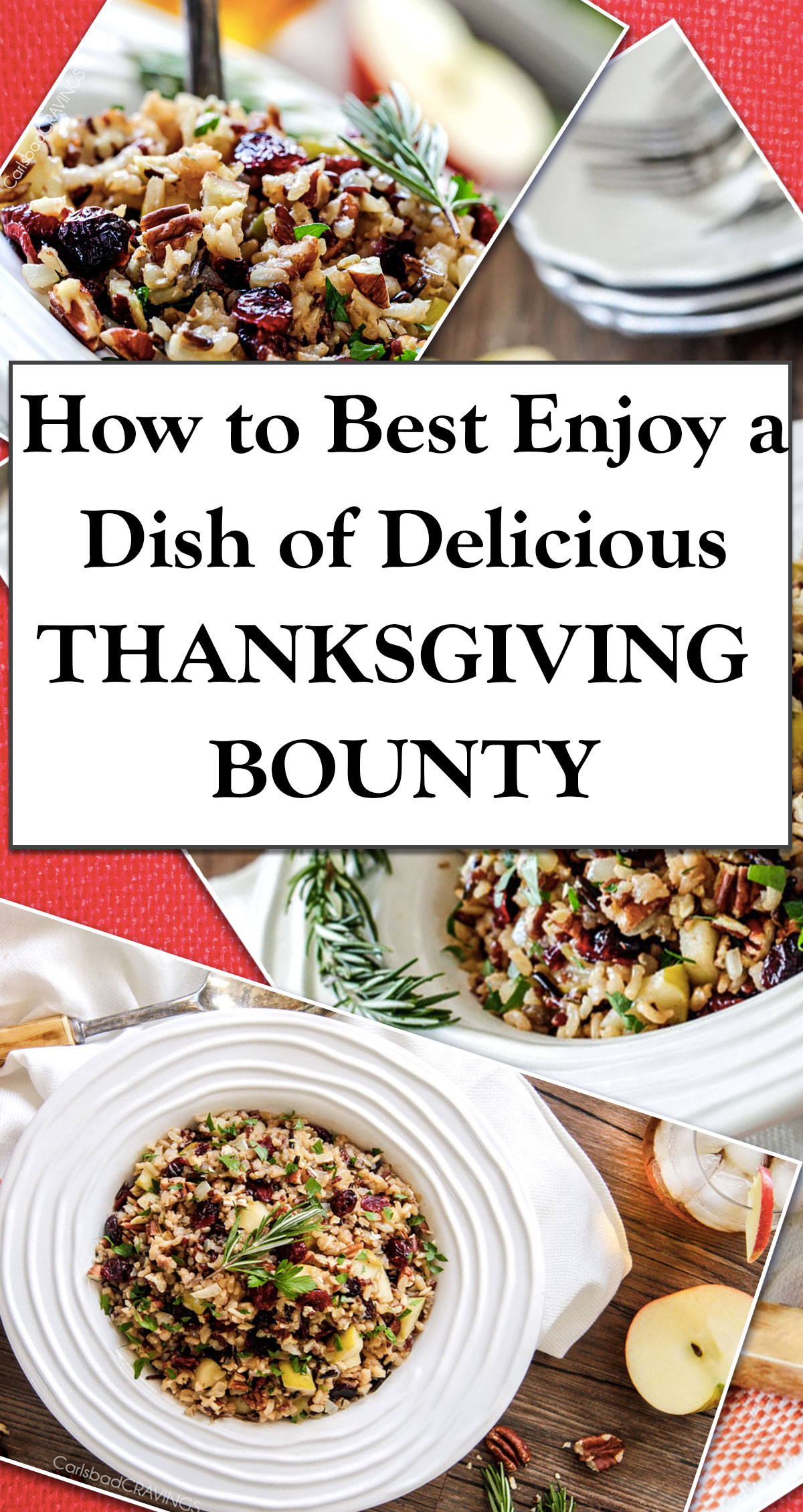 How to Best Enjoy a Dish of Delicious Thanksgiving Bounty Pin