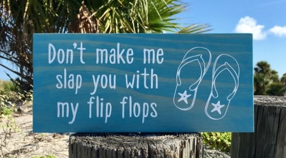 Beach Sign Decor | Sunset Vacations