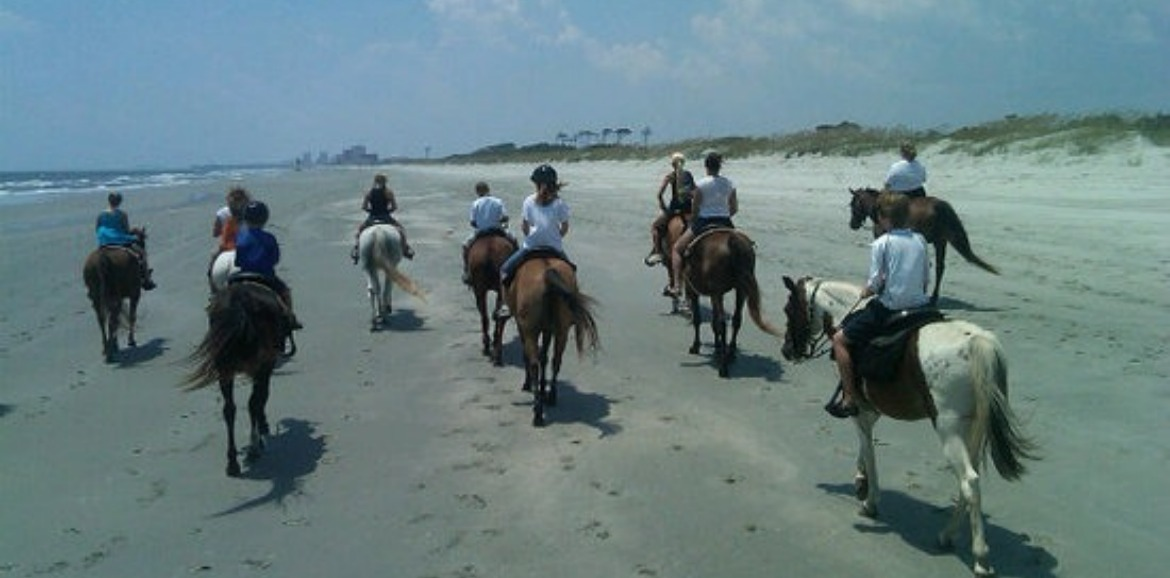Riding Horses on the Beach | Sunset Vacations