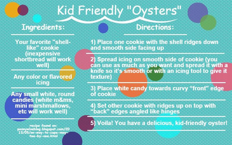 Kid Friendly Oysters
