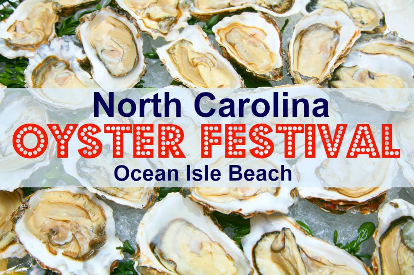 North Carolina Oyster Festival in Ocean Isle Beach
