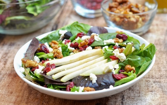 Pear and Walnut Salad | Sunset Vacations