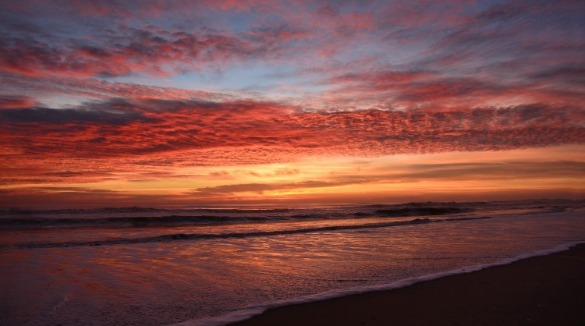 sunset on north carolina beach | Sunset Vacations