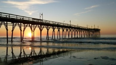 Sunset Beach fishing pier | Sunset Vacations