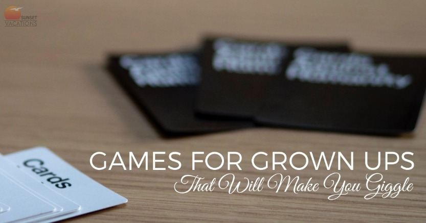 Games For Grown Ups That Will Make You Giggle | Sunset Vacations