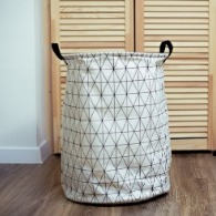 black and white laundry basket | Sunset Vacations