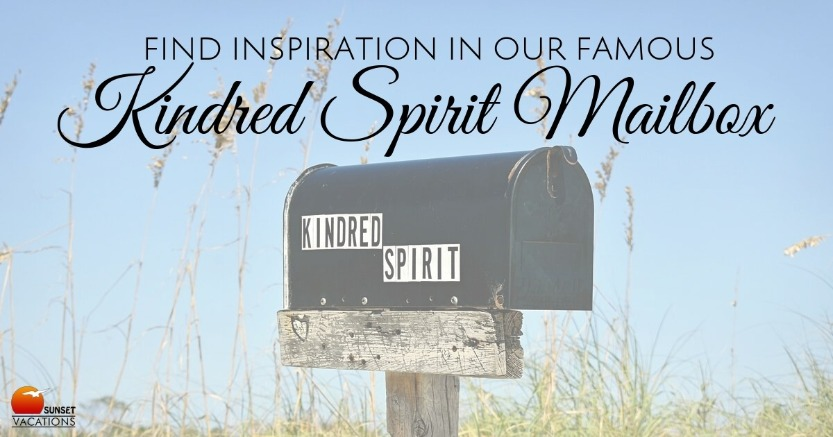 Find Inspiration In Our Famous Kindred Spirit Mailbox | Sunset Vacations