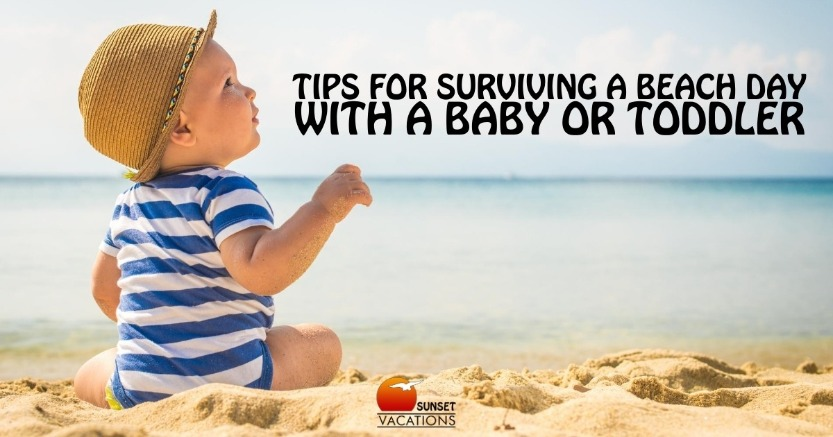 Tips For Surviving a Beach Day With a Baby or Toddler