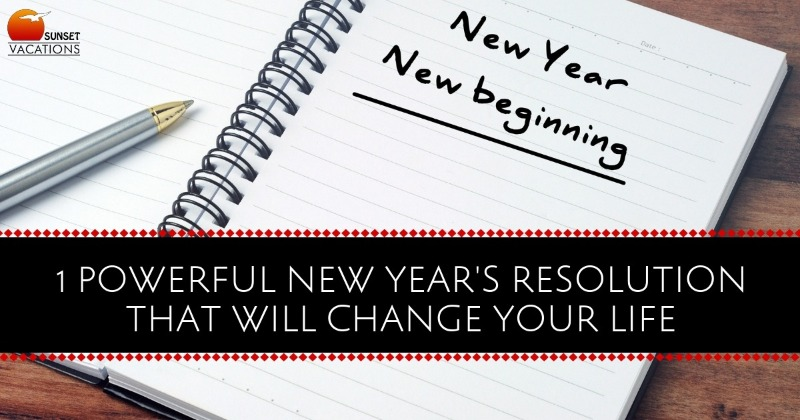 Powerful New Years Resolution