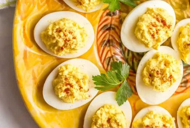 Southern Deviled Eggs | Sunset Vacations