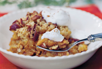 Pumpkin Crisp | Sunset Vacations