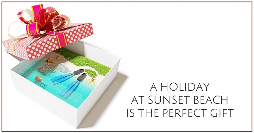 A Holiday At Sunset Beach is the Perfect Gift | Sunset Vacations
